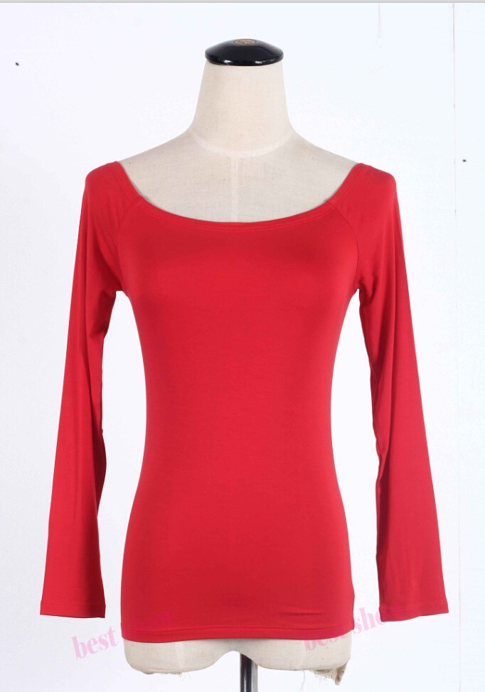 red long sleeve