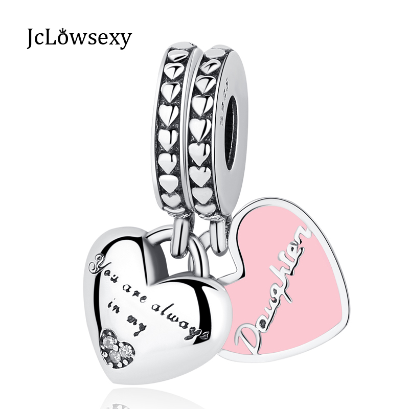 Authentic 925 Sterling Silver My Wife Always Love Heart Beads Charms Fit Pandora Bracelets Women Anniversary Diy Silver Jewelry Beads & Jewelry Making