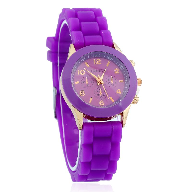 New Mini Geneva Kids Watch Girls Women Golden wristwatch ...