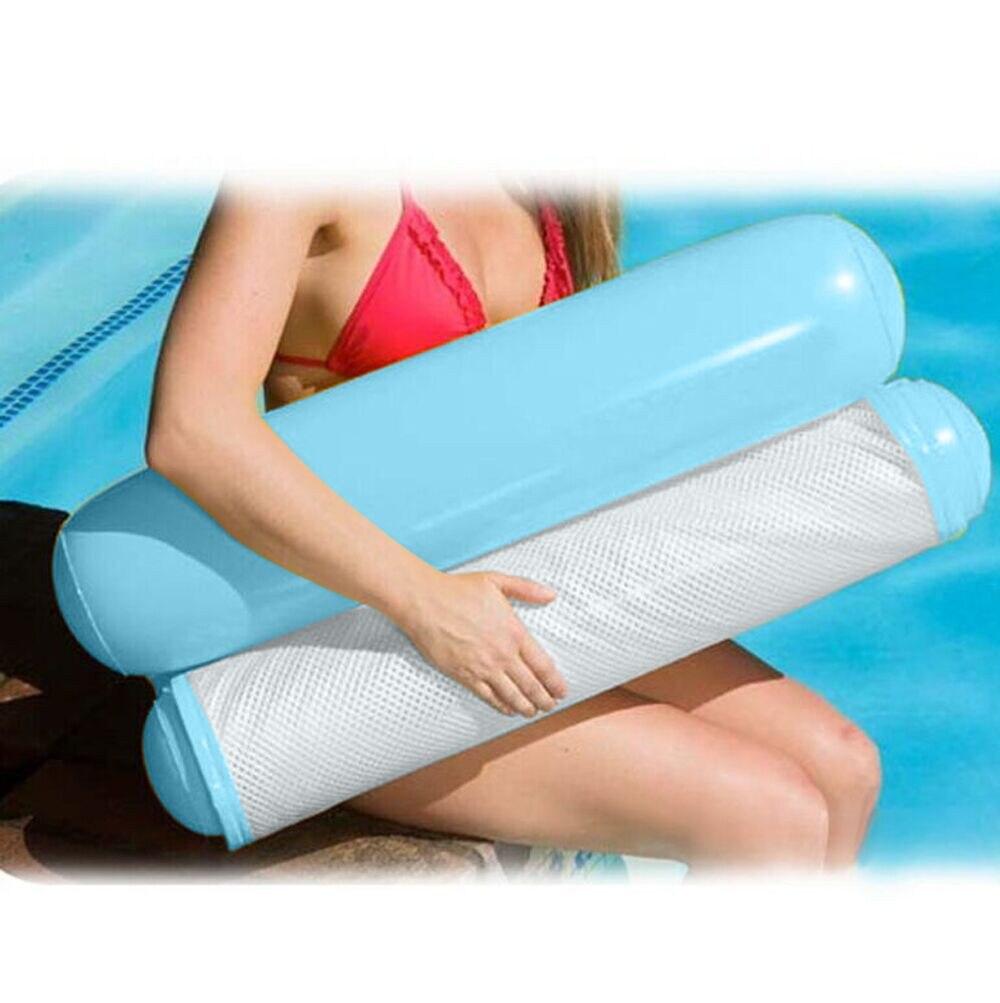 Плавательный круг из стул солнечных ванн плавательный складной бассейн надувной матрас летний плавательный круг из игрушки на открытом воздухе озеро река океан - Цвет: A