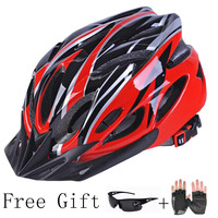 Integrally Molded Cycling Helmet Super Light Mtb Adults Mojito Protone Bicycle Accessories EPS PC Adjustable 56