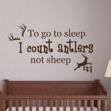 цена Vinyl Wall Sticker To Go To Sleep Quote Removable Babys Room Wall Decals Nursery Wall Art Mural Bedroom Design Poster AY042 онлайн в 2017 году