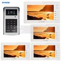 7นิ้ว1024x600 HDหน้าจอTFT LCDวิดีโอประตูโทรศัพท์วิดีโออิน