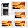 7 Inch 1024 X 600 HD TFT LCD Screen Video Door Phone Video Intercom Doorbell 300000