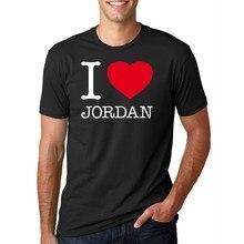 007ceba056d425 High Quality Customized I love JORDAN Men T shirt Print Your Own Design Men  Casual Tops Tee Shirts
