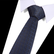 Tie For Men Formal Wedding Party Groom Hot Sell Plaid Solid Black Paisley 100% Silk Classic Set New Designer