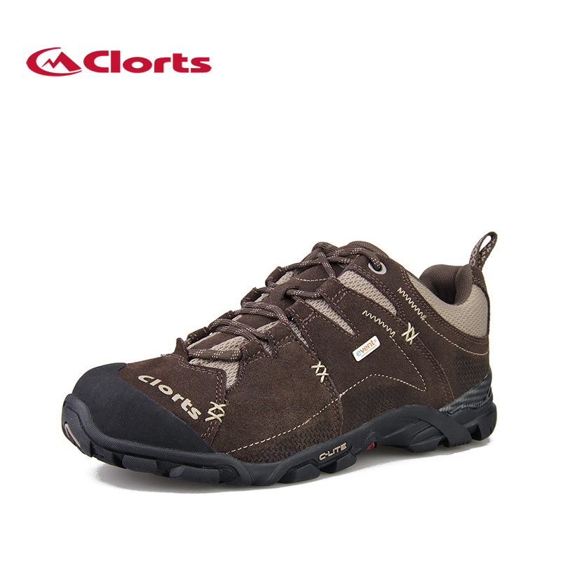 Clorts EVENT Waterproof Trekking Shoes for Men Genuine Leather Hiking Boots Winter Mountain Sneakers 3D007 event