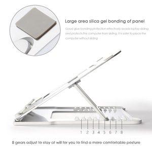 Image 5 - 유니버설 휴대용 노트북 스탠드 노트북 스탠드 홀더 접이식 알루미늄 삼성 전자 맥북 에어 13 프로에 대한 조절 가능