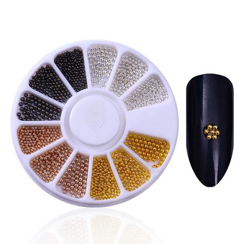 Смешанный цвет камень-хамелион Стразы для ногтей маленькие Необычные бусины Маникюр 3D дизайн ногтей украшения в колесиках аксессуары - Цвет: Pattern 2