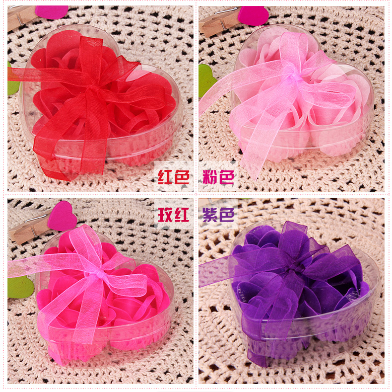 Bouquet Gift-Boxes Roses Home-Decoration-Decoration Wedding-Gifts Creative Birthday Soap