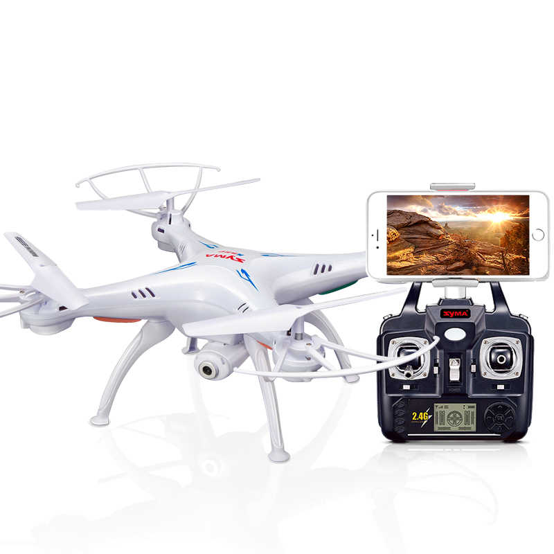 SYMA X5SW Drone met WiFi Camera Real-time Zenden FPV Quadcopter Quadrocopter (X5C Upgrade) HD Camera Dron 4CH RC Helicopter