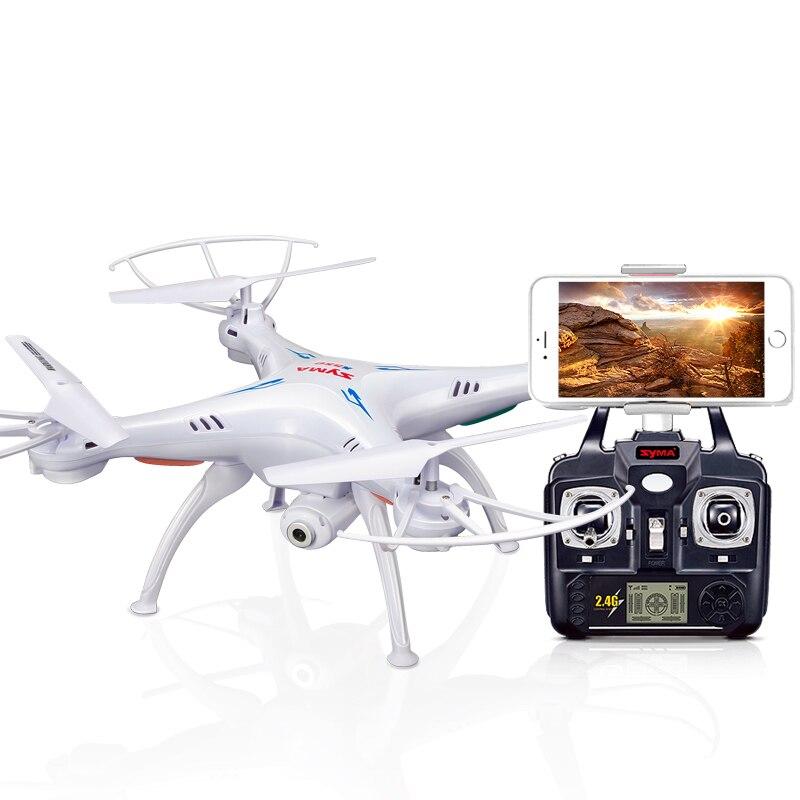 SYMA X5SW Drone con la Macchina Fotografica di WiFi in tempo Reale di Trasmissione FPV Quadcopter Quadrocopter (X5C Aggiornamento) HD Macchina Fotografica di Dron 4CH RC Elicottero-in Elicotteri radiocomandati da Giocattoli e hobby su  Gruppo 1