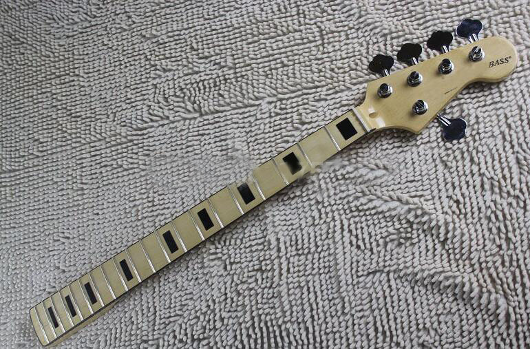 Free Shipping HOT Wholesale 20 fret neck 5 Strings F Bass guitar Maple Neck With tuner peg Keys