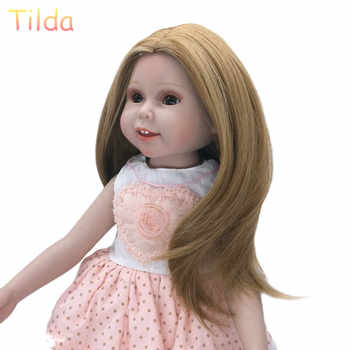 Tilda 25-28cm Head Size Fashion Hair Wigs for Dolls Puppet High-Temperature Doll Wig Hairs Accessories for Dolls Wigs 10pcs/lot - DISCOUNT ITEM  49% OFF All Category