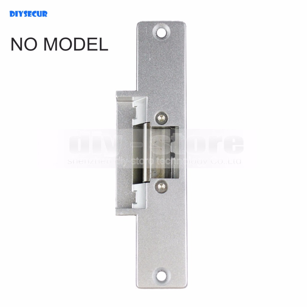 DIYSECUR NO Electric Strike Door Lock For Access Control System Use Fail Safe