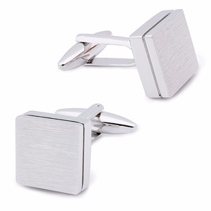 Image 5 - HAWSON Retailed Formal Brushed Cufflinks Mens Suit Shirt IP Black CuffLinks High Quality with Gift Box