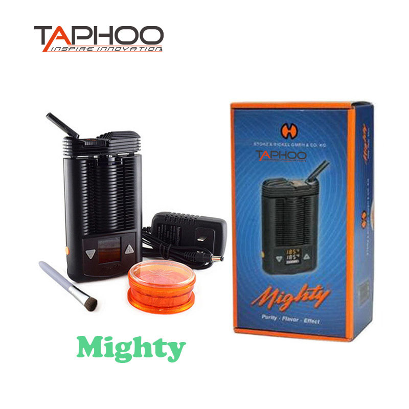 TAPHOO Mighty mod kit dry herb Powerful Temperature Adjustable mod e-cigarettes Mighty herbal vaporizer Box Mod Big Vape mighty mod kit dry herb powerful temperature adjustable mod e cigarettes mighty herbal dry herb vaporizer box mod big vape