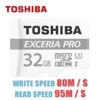 Original TOSHIBA Micro SD Memory Card 32GB 64GB SDHC SDXC Class10 TF Flash Card U3 4K