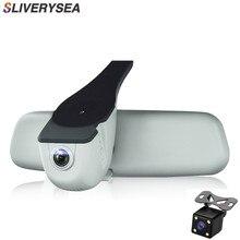 все цены на Car DVR Dash Cam Registrator Dual Camera Full HD 1080P Night Vision Video Recorder WiFi For Audi A1 A3 A4L A5 A6 Q3 Q5 онлайн