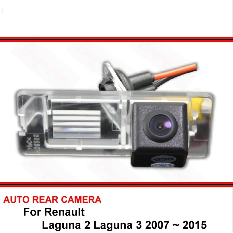 For Renault Laguna 2 Laguna 3 2007 ~ 2017 Night Vision Rear View Camera Reversing Camera Car Back Up Camera HD CCD Wide Angle