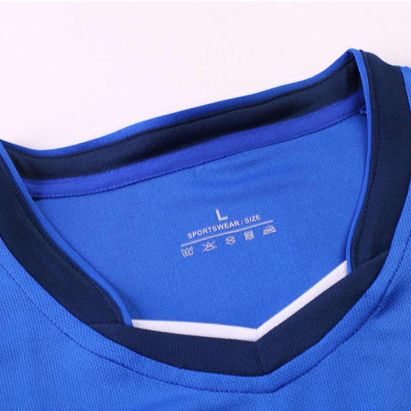 Anpassen 20/21 Blank Fußball Trikots & Shorts Set Kinder Jungen Fußball Uniform Männer Frauen Futsal Team Training Anzug Sport Trainingsanzug