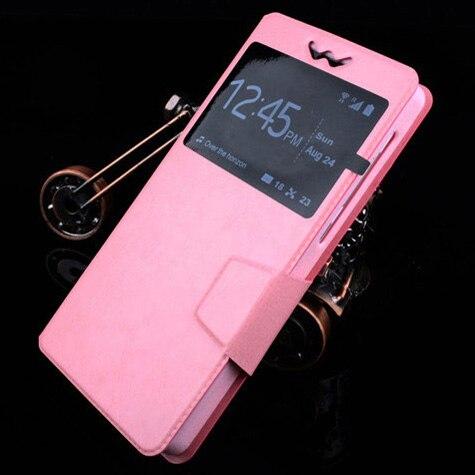 Flip push up phone case para philips xenium i908 pu cajas elegantes del teléfono