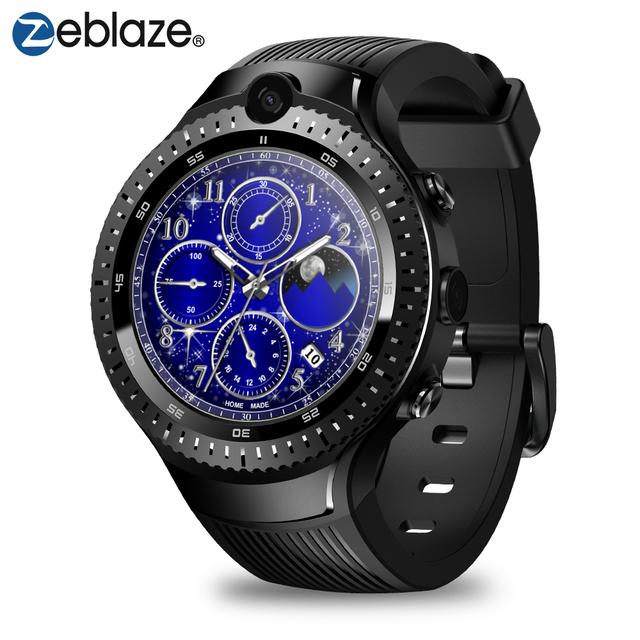 Zeblaze THOR 4 4G LTE Dual Camera 5.0+5.0MP Video Voice Call 1+16GB Sports SmartWatch Android Smart Watch GPS/GLONASS Men Women