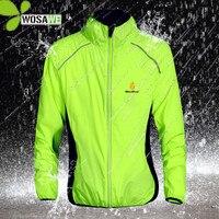 WOSAWE Riflettente Acqua Repellente Per Zanzare Cicliismo Giubbotti 5 di colore di Pioggia Abbigliamento Usura Della Bicicletta Antivento Cappotto MTB DELLA BICI Giacca A Vento S 3XL|Giacche da ciclismo|Sport e intrattenimento -
