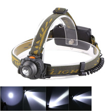 100M Distance Head Lamp 18650 or 3XAAA Battery 1200 Lumens LED IR Sensor Headlight Headlamp Lantern Flashlight Outdoor Camping