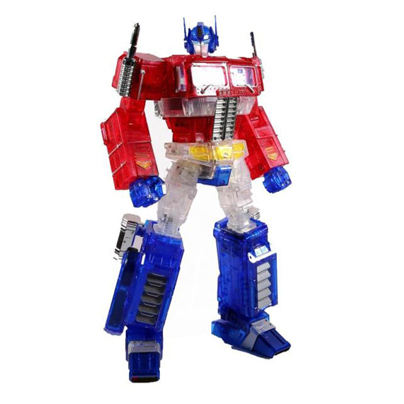 ( In Stock ) Toy Weijiang MPP10A Optimus Prime Transparent