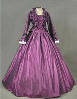 Ladies Victorian Day Costume Renaissance Dresses For Women