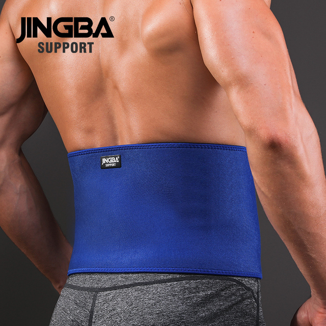 JINGBA SUPPORT Professional Adjustable Waist trimmer Slim fit Abdominal Waist sweat belt Waist back support belt Fitness 2