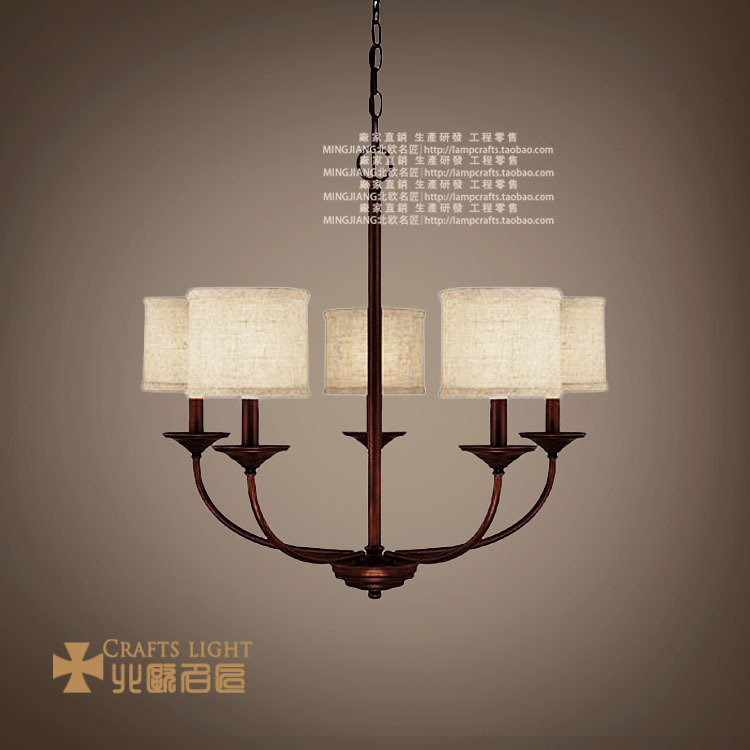 Nordic American Art chandelier lighting IKEA modern minimalist ...