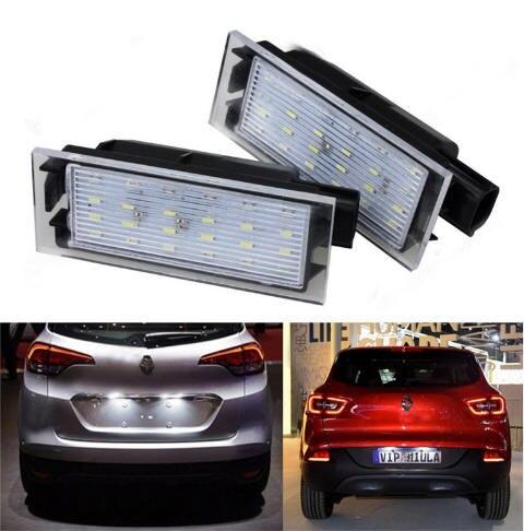 Us 988 Podświetlanie Led Do Rejestracji Oświetlenie Tablicy Rejestracyjnej Dla Renault Twingo Ii Clio Iii Megane Ii 3d5d Kombi Laguna Iii
