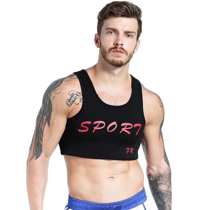 Men's Chest Vest Dumbbells Rubber Mens Fitness   Tank     Tops   Corset Men's Sleeveless Shirt Elasticity   Tops