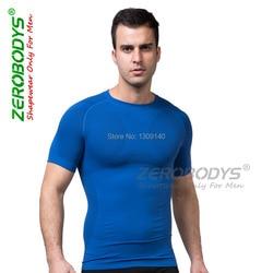 الرجال ضغط تي شيرت العضلات البطن التخسيس الجسم المشكل الملابس لياقة قميص scuplt حزام أعلى داخلية b391