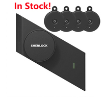 Sherlock S2 Smart Door Lock And 4Pc Keys Home Keyless Lock Easy Installation Electronic Door Lock Wireless App Bluetooth Control
