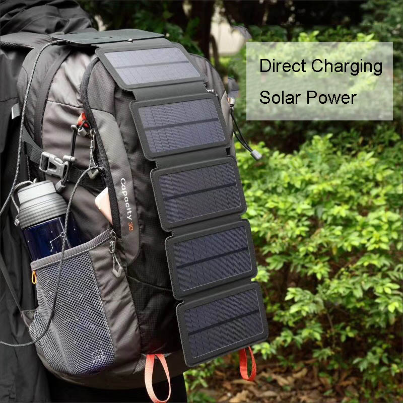 Solar Panel 7.5W 5V Solar Charger Portable Solar Battery Chargers Charging for Phone for Hiking etc. Outdoors.Solar Panel 7.5W 5V Solar Charger Portable Solar Battery Chargers Charging for Phone for Hiking etc. Outdoors.