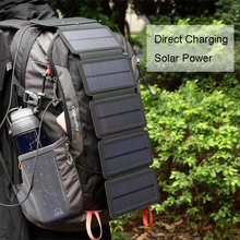 Солнечная панель 7,5 W 5 V Портативное Солнечное Зарядное устройство солнечные зарядные устройства Зарядка для телефона для пеших прогулок и т. д. на открытом воздухе.