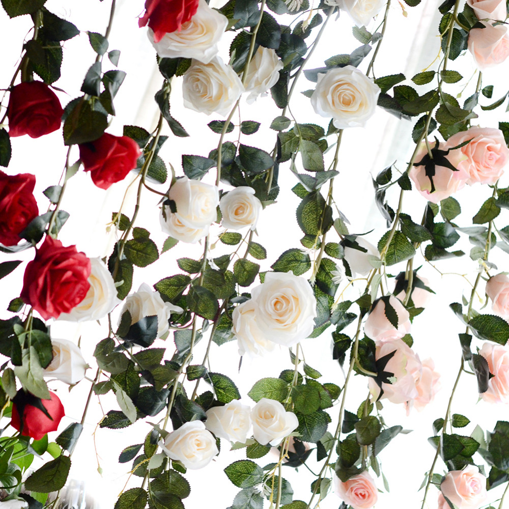 180cm artificial rose flower vine wedding decorative real touch silk 1pc 180cm teddy bear plush toys soft outer skin and stuffed animals bear coat holiday gift mightylinksfo