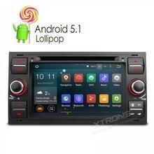 """7 """"Quad Core de 64 Bits Android 5.1 OS DVD Del Coche para Ford c-max 2007-2009 y conectar 2007-2009 & fusión 2006-2011 y galaxy 2005-2007"""