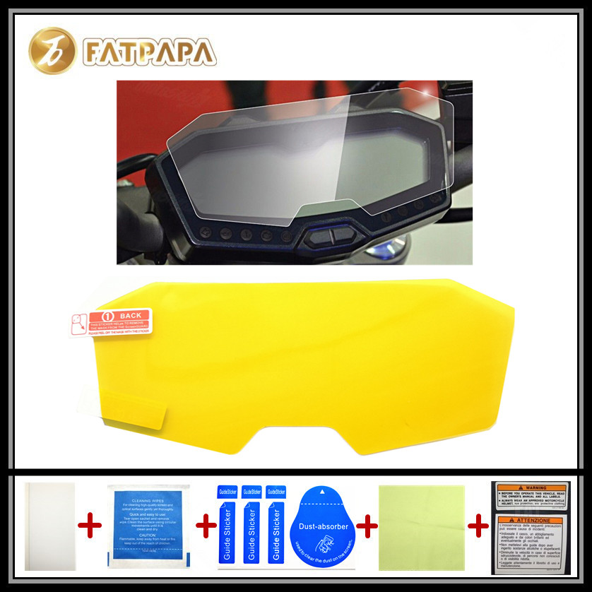 motorcycle Meter Km Table Display screen Blu-Ray Protective film Suitable FOR YAMAHA FZ7 MT07 MT 07