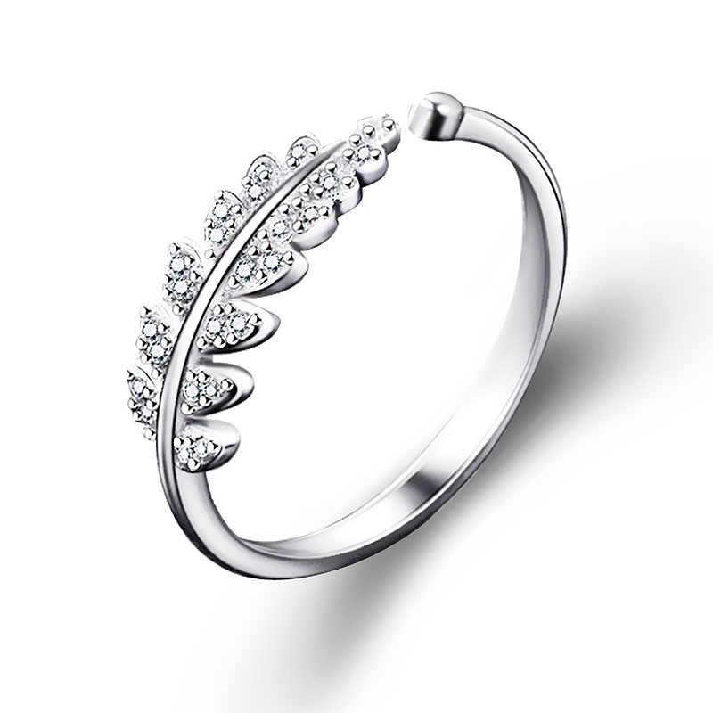 LNRRABC ผู้หญิงเครื่องประดับเปิดแฟชั่นออกแบบแหวนบุคลิกภาพหญิงดอกไม้แหวนแหวน