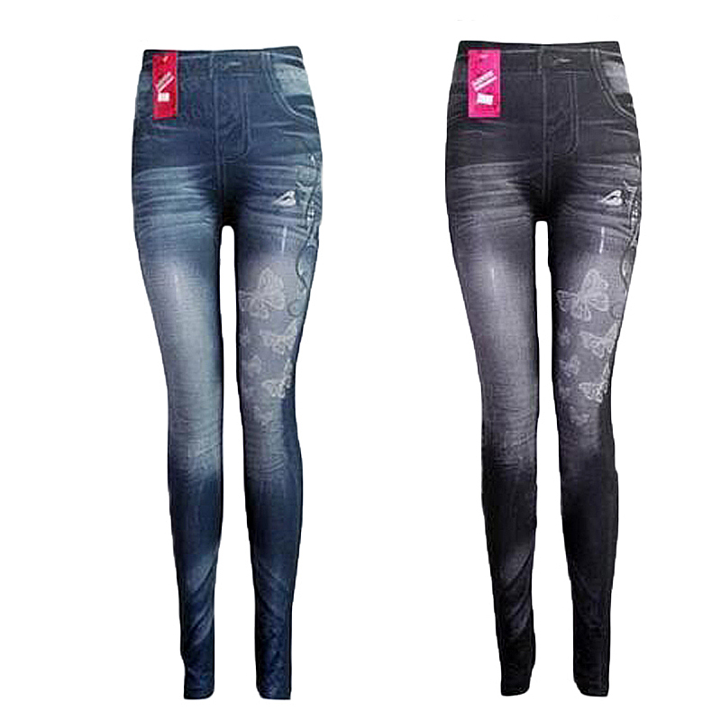 Classic Stretchy Slim Denim Leggings Jeggings