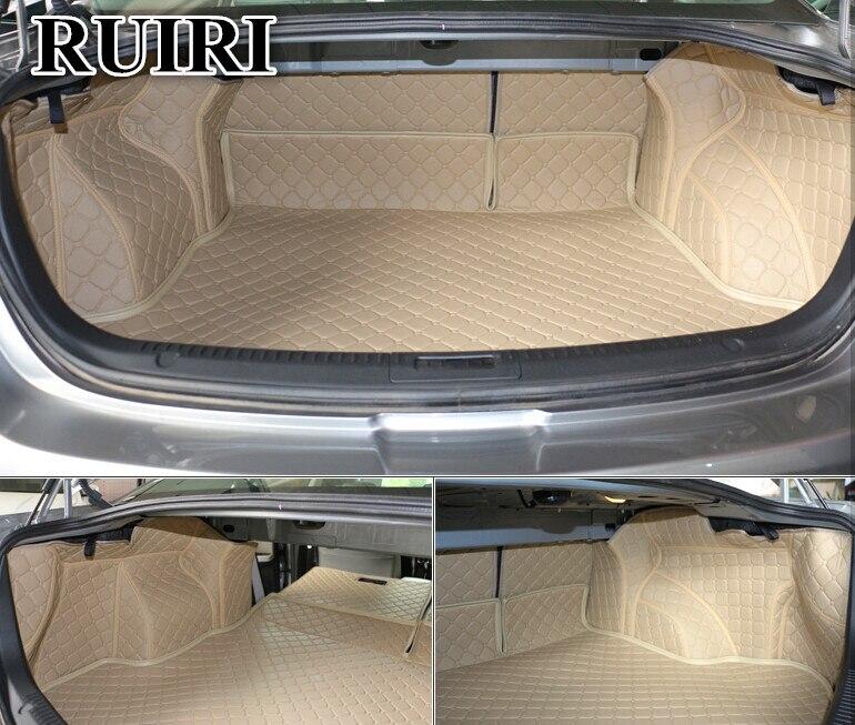 Высокое качество! Специальные материалы ствола для Mazda 6 Sedan 2013 2007 водонепроницаемые ботинки ковры грузового лайнера для Mazda 6 2009, Бесплатная