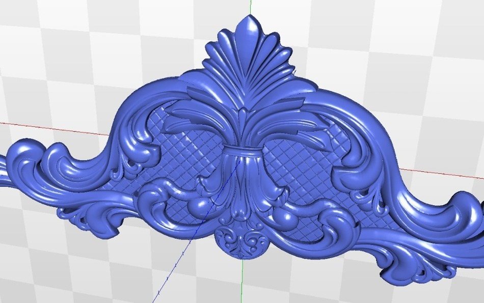 3d Model Relief Decor_15 For Cnc In STL File Format