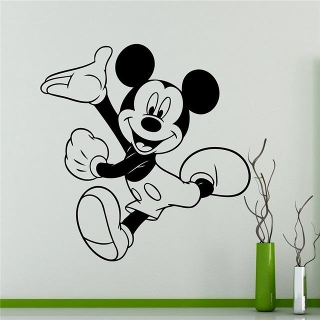mickey mouse wall decal cartoon vinyl sticker wall art decor