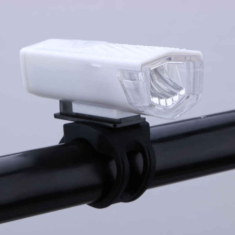 Rower światła USB akumulator 300 lumenów 3 tryb rowerów przednie światła lampy jazda na rowerze rower reflektorów latarka LED latarka
