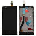 Replacement For Nokia Lumia 720 LCD Display Touch Screen Digitizer Assembly with frame , Black Free Shipping