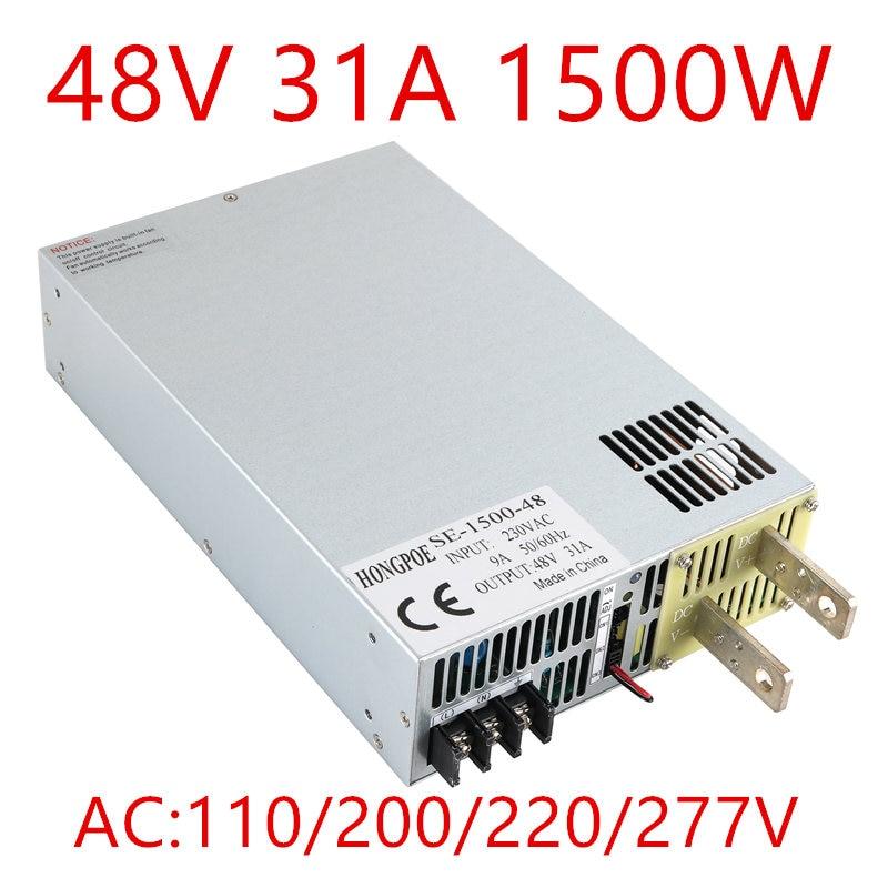 все цены на 1PCS 1500w 48V 0-5V analog signal control 0-48v adjustable power supply 48V 31A power supply 1500W 48V power supply ac to dc 48V онлайн